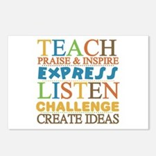 Teacher Creed Postcards (Package of 8)