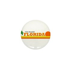 Visit Beautiful Florida Mini Button (10 pack)