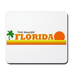 Visit Beautiful Florida Mousepad