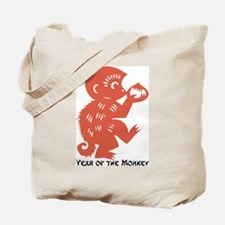 Year Of The Monkey Tote Bag