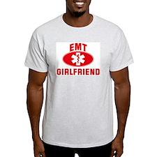 EMT Symbol: GIRLFRIEND Ash Grey T-Shirt