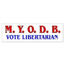 MYODB Bumper Bumper Sticker