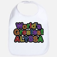 Worlds Greatest Alyssa Bib