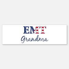 Grandma: Patriotic EMT Bumper Bumper Bumper Sticker