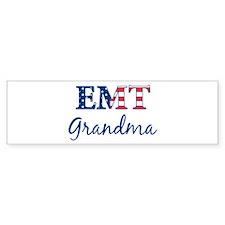 Grandma: Patriotic EMT Bumper Bumper Sticker