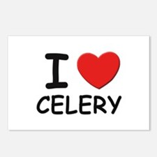 I love celery Postcards (Package of 8)