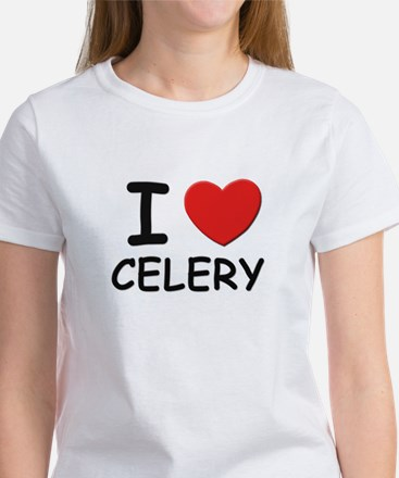 I love celery Women's T-Shirt
