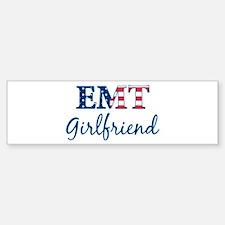 Girlfriend: Patriotic EMT Bumper Bumper Bumper Sticker