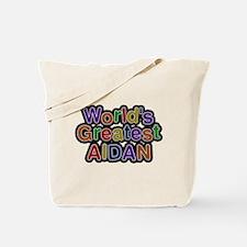 Worlds Greatest Aidan Tote Bag