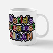 Worlds Greatest Aidan Mug