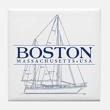 Boston - Tile Coaster