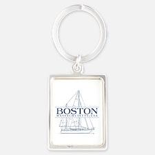 Boston - Portrait Keychain
