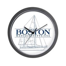 Boston - Wall Clock