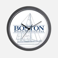 Boston - Wall Clock