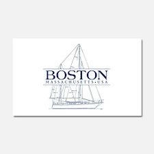 Boston - Car Magnet 20 x 12