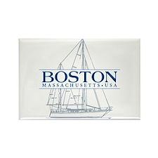 Boston - Rectangle Magnet