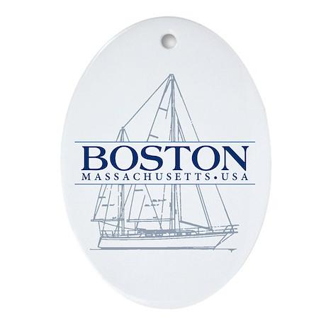 Boston - Ornament (Oval)