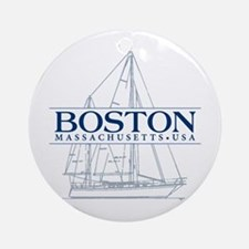 Boston - Ornament (Round)