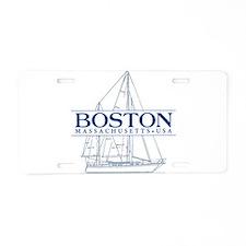 Boston - Aluminum License Plate