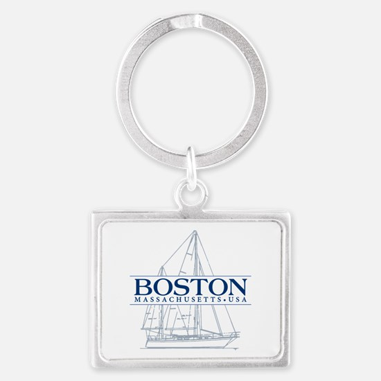 Boston - Landscape Keychain