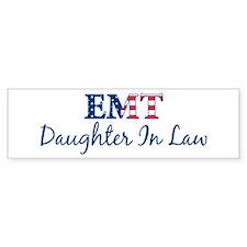 Daughter In Law: Patriotic EM Bumper Bumper Sticker