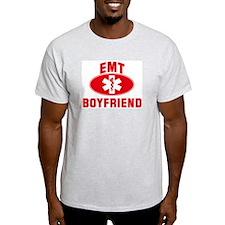 EMT Symbol: BOYFRIEND Ash Grey T-Shirt