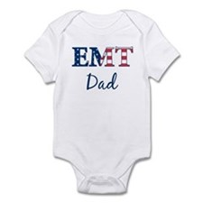Dad: Patriotic EMT Infant Bodysuit
