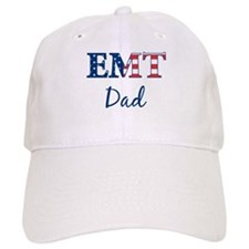 Dad: Patriotic EMT Baseball Cap
