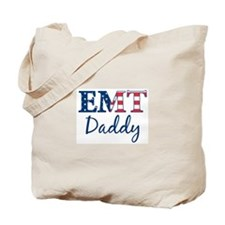 Daddy: Patriotic EMT Tote Bag