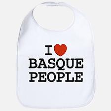 I [heart] Basque People Bib