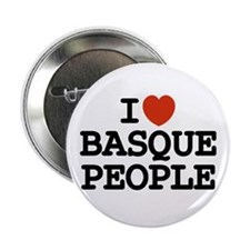 """I [heart] Basque People 2.25"""" Button (10 pack)"""
