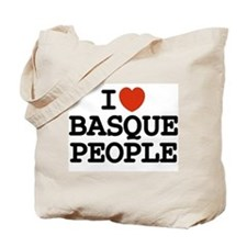 I [heart] Basque People Tote Bag