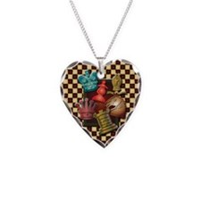 Chess Boxes Necklace