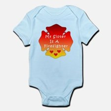 Firefighter Sister Infant Bodysuit