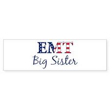Big Sister: Patriotic EMT Bumper Bumper Sticker