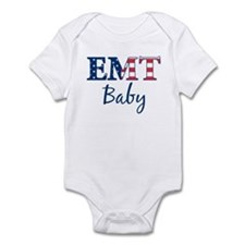 Baby: Patriotic EMT Infant Bodysuit