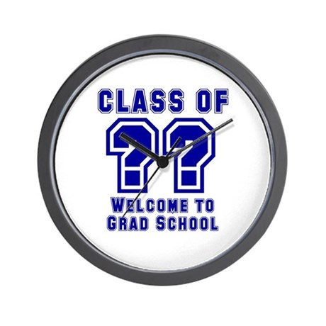 """""""Class of ?? Welcome..."""" Wall Clock"""