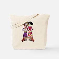 Las Calaveras Hermanas Tote Bag