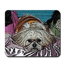 Shih Tzu Pop Art Hogan Mousepad