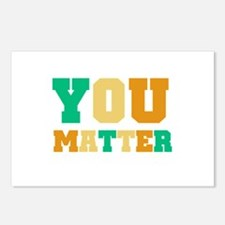 YOU Matter Postcards (Package of 8)