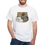 English Trumpeter Duo White T-Shirt