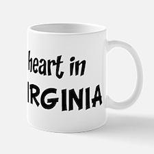 Left my Heart: WEST VIRGINIA Mug