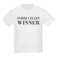 Food Chain Winner Carnivore Humor T-Shirt