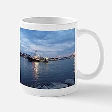 Night Fishing Boat Mug