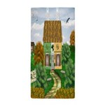 St Patricks Day Cottage Beach Towel