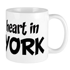 Left my Heart: NEW YORK Small Mug