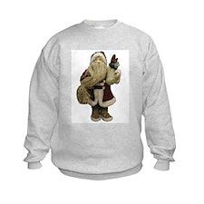Straw Santa Sweatshirt