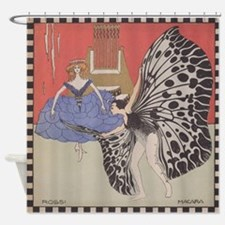 Rossi and Macara by Moser Shower Curtain