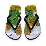 St Patricks Day Cottage Flip Flops