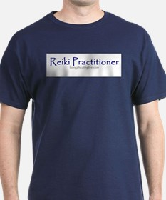 Reiki Practitioner purple T-Shirt